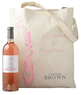 Château Brown rosé présentation