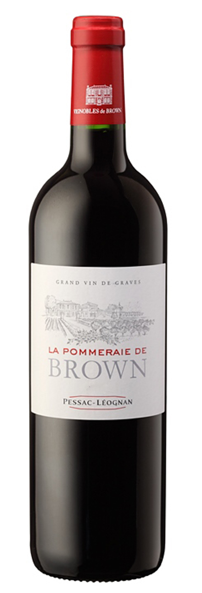La Pommeraie de Brown rouge