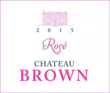 Château Brown Rosé 2015