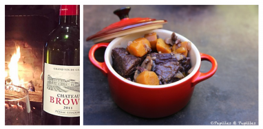 Chateau Brown 2011 Boeuf Bourguignon