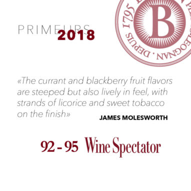 Primeurs 2018 James molesworth