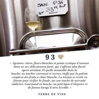 Notes Château Brown blanc par Yves Beck